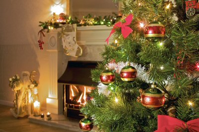 Holiday candles, fireplaces, and Christmas decorations present fire hazards that can lead to home insurance claims..