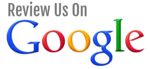 review us on google button pic