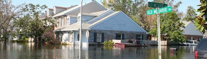 Flood Insurance, not homeowners, covers flood damage to your home.
